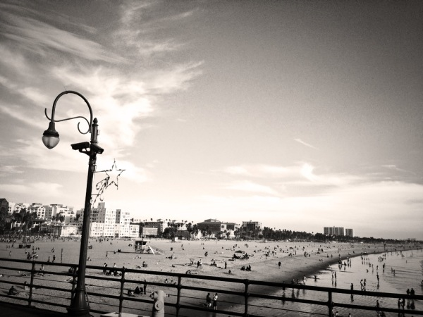 Image: Winter Day on Santa Monica Pier, CA (Free Blog Pictures)