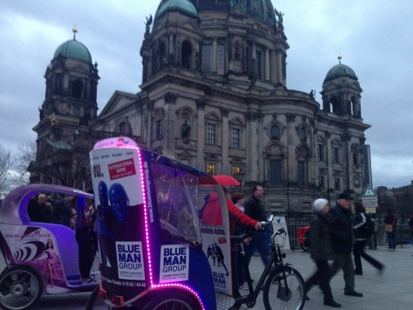 Image: Berlin, Germany - Pedicabs in Winter (Free Blog Pictures)