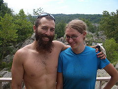 Dan and Trish at Great Falls