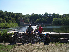 Dan and Me by a Dam by the C&O